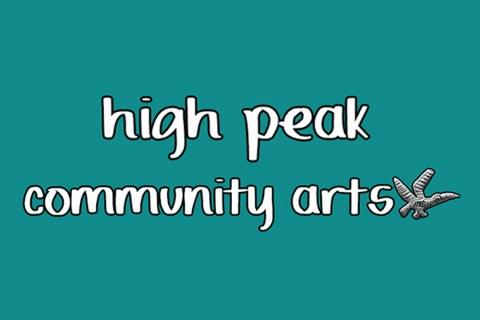 High Peak Community Arts logo