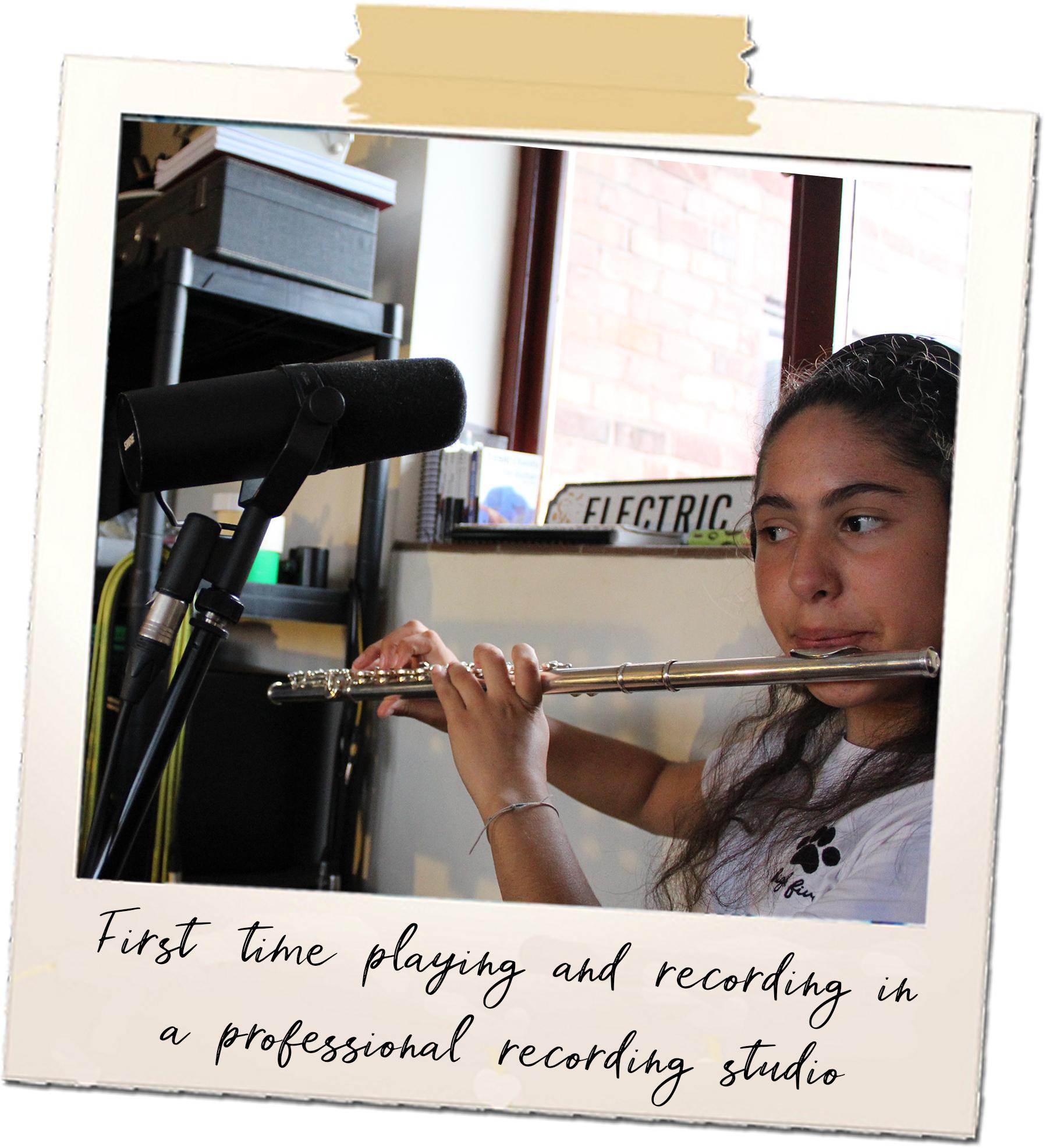 flute recording pola