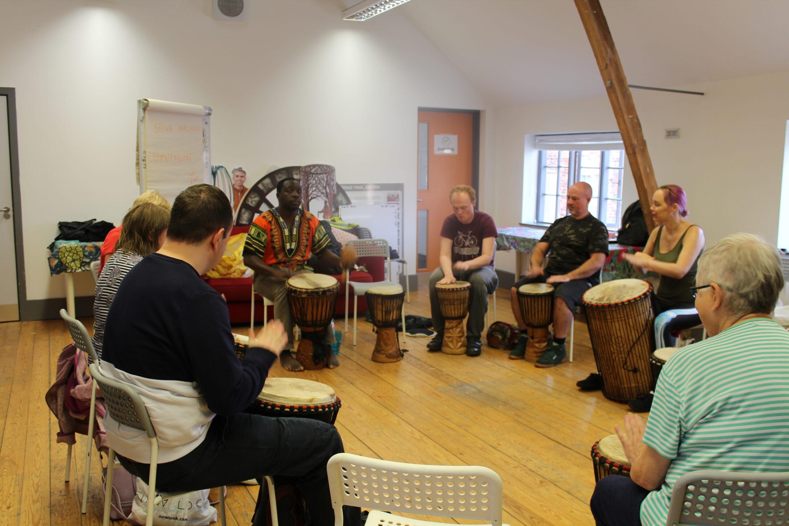 Djembe Drumming workshop with Butshilo Nleya