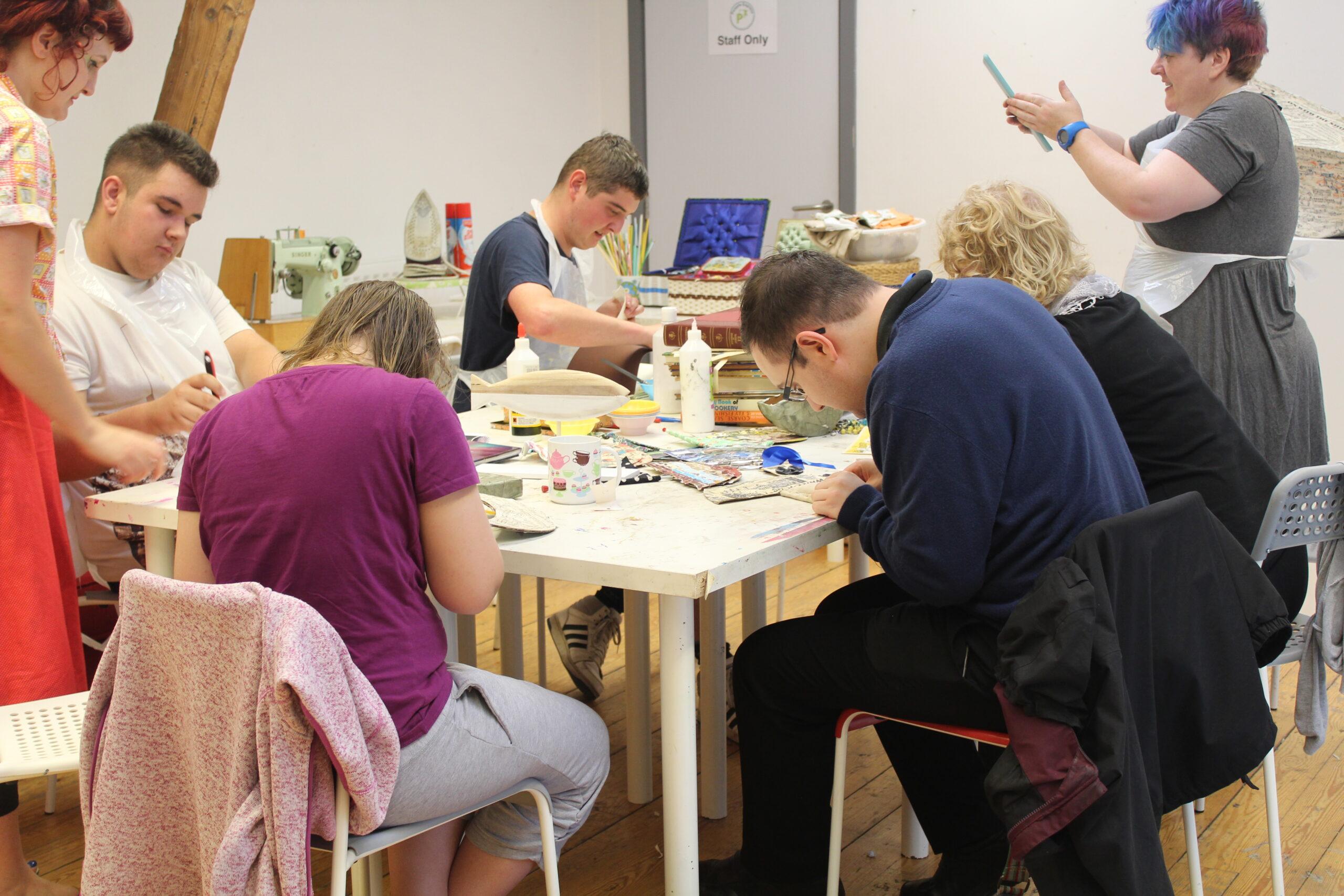 Workshop to create 'Safe Harbour' installation